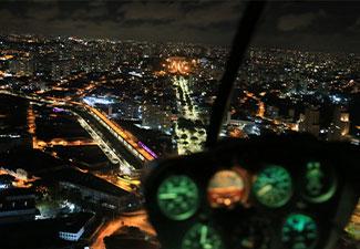 Voo Panorâmico de Helicóptero 30 min