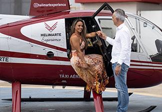 Voo de Helicóptero com Almoço no Grand Mercure Ibirapuera