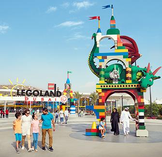 Dubai Parks e Resorts - 1 dia/ 2 parques