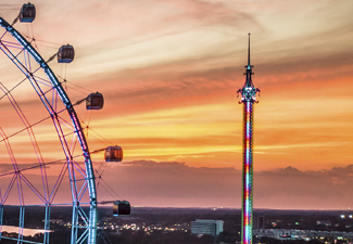 Thee Wheel at Icon Park + Starflyer