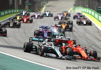 F1 -GP de São Paulo - Arquibancada sábado e domingo