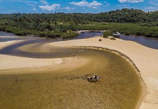 COMBO - Arraial d'Ajuda + Trancoso + Praia do Espelho + Rota da Aldeia (4 dias)