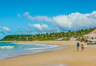 Praia do Espelho (saida de Arraial d'Ajuda)