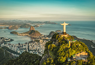 Um dia no Rio com ingressos Pão de Açucar + Corcovado (subida de van) e almoço em Churrascaria