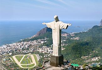 Tour Corcovado (subida de van) + City Tour