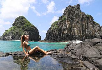 Passeio de Barco Tradicional + Trilha Costa Esmeralda + Trilha Costa Azul + Trilha Costa dos Mirantes + Canoa Havaiana (5 dias)