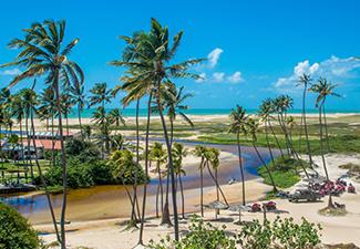 Passeio a Praia de Punaú - Saída de Natal