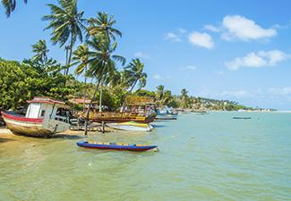 Passeio a Praia de Cunhaú com passeio de barco