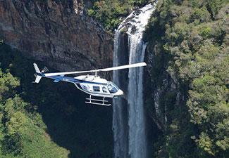 Passeio de Helicóptero – Cascata do Caracol