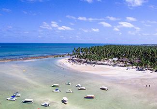 Praia dos Carneiros com Catamarã - Saída de Boa Viagem e Piedade
