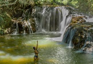 Cachoeira Serra da Bodoquena - Com Transfer de hotéis em Bonito