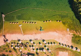 Balneário Praia da Figueira - Com Transfer de hotéis em Bonito