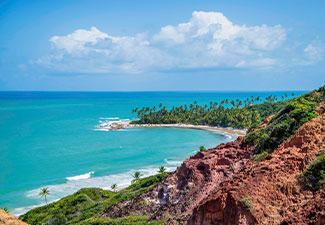 Praias da Costa do Conde - Litoral Sul (Praias Coqueirinho, Tambaba e Tabatinga)