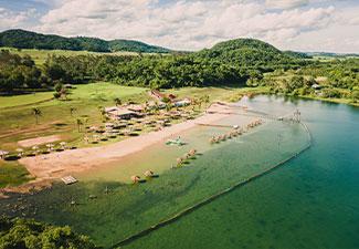 Formoso - Praia da Figueira - Com Transfer de hotéis em Bonito