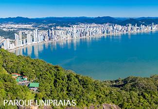 Tour Balneário Camboriú com Parque Unipraias (Opcional) - Saída de Hotéis em Penha