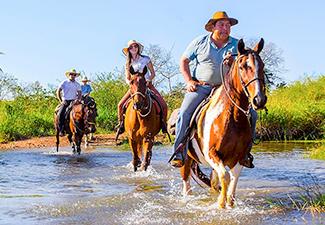 Cavalgada Parque Ecológico Rio Formoso - Com Transfer de Hotéis em Bonito