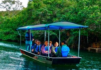 Passeio de Barco Elétrico Porto da Ilha - Com Transfer de Hotéis em Bonito
