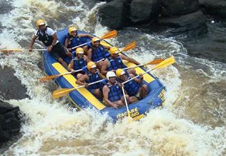 Rafting no Rio de Contas + Tirolesa - Saída de Itacaré