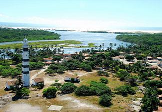 Circuito Rio Preguiças - Pequenos Lençois - Saída de hotéis  Barreirinhas