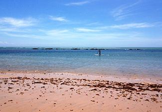 Pedalada Porto Seguro / Praia de Mutá com Caiaque