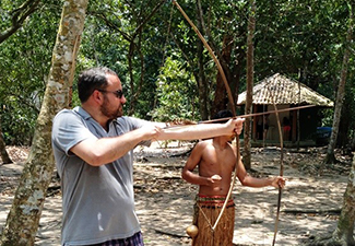 Pedalada História, Praia e Reserva Indígena
