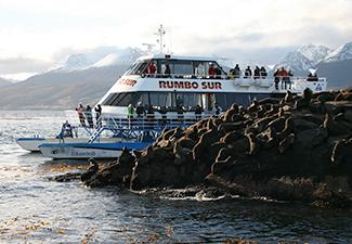 Navegação marítima a Isla de Lobos