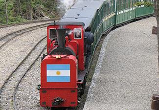 Ticket Trêm do fim do Mundo ( Opcional da excursão ao Parque Nacional Tierra del Fuego).