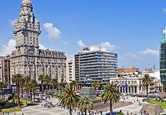 Dia todo em Montevideo - Uruguai