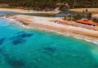 Praia Dunas de Marapé - Saída de Maceió