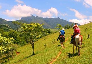 Cavalgada em Paraty