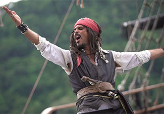 Barco Pirata - Capitão Gancho