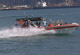 Passeio de Super Boat para Castelhanos
