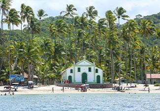 Praia dos Carneiros com passeio de Catamarã - Saída do Villa Galé Cabo de Sto Agostinho