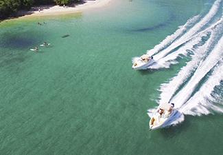 Passeio de Lancha compartilhada - roteiro Ilha Grande