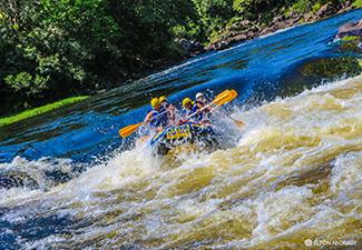 Rafting no Rio de Contas + Tirolesa - Sem Transporte