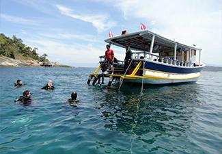 Mergulho em Angra dos Reis