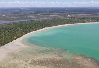 Praia de Garapuá - Pick-up 4X4 Off-Road