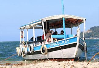 Passeio de Barco - Praia  da Gamboa / Ilha da Coroa do Meio / Banho de Argila