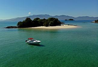 Passeio de Lancha Privativa - Volta Ilha Gipoia