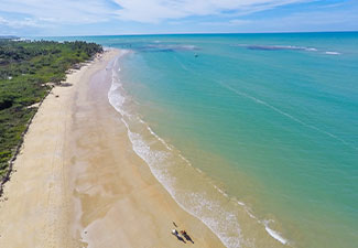 Trancoso - Praia dos Coqueiros - Saída de Cabrália ou Coroa Vermelha