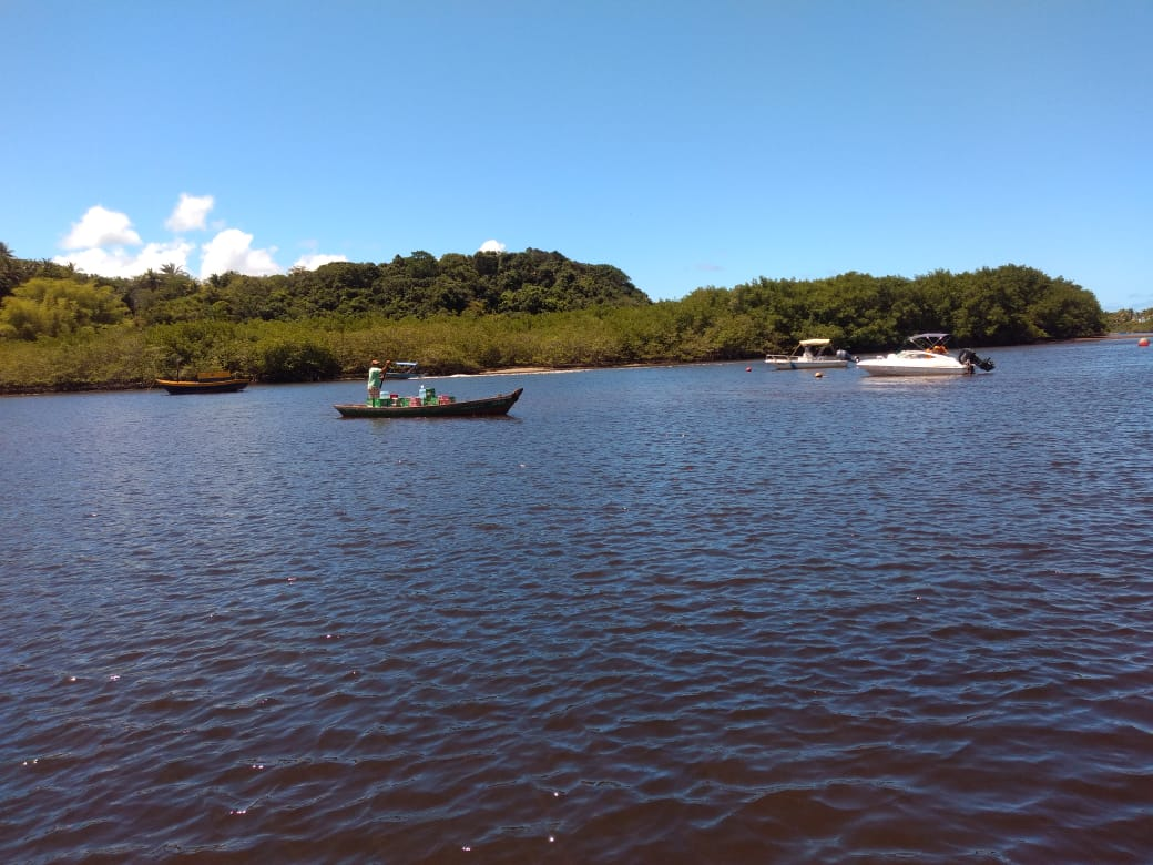 Praia de Satu e Caraíva - Saída de Cabrália ou Coroa Vermelha