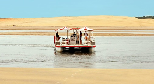Praias de Mundaú e Flecheiras - inclui Passeio de Barco