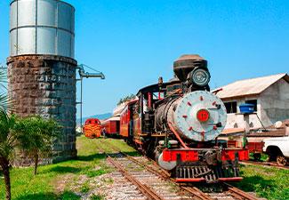 Passeio Trem em Dobro - Maria Fumaça (Primeira Classe - Vagões: Copacabana ou Foz do Iguaçu ou Curitiba)