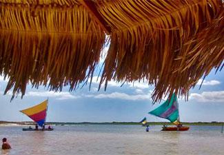 Passeio á  Praia de Jericoacoara com Lagoa do Paraíso - Saindo de Fortaleza