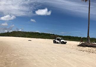 Passeio a Praia do Saco + Lagoa dos Tambaquis