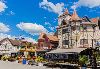 City Tour Blumenau - Saída de Hotéis Florianópolis