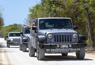 Aventura de Jeep em Cozumel