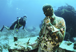 Mergulho em Cancún - Um Tanque
