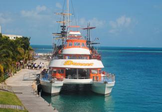 Dancer Cruise All Inclusive - Catamarã para Isla Mujeres