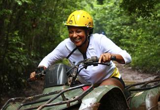 Aventura ATV e Cenote - Individual